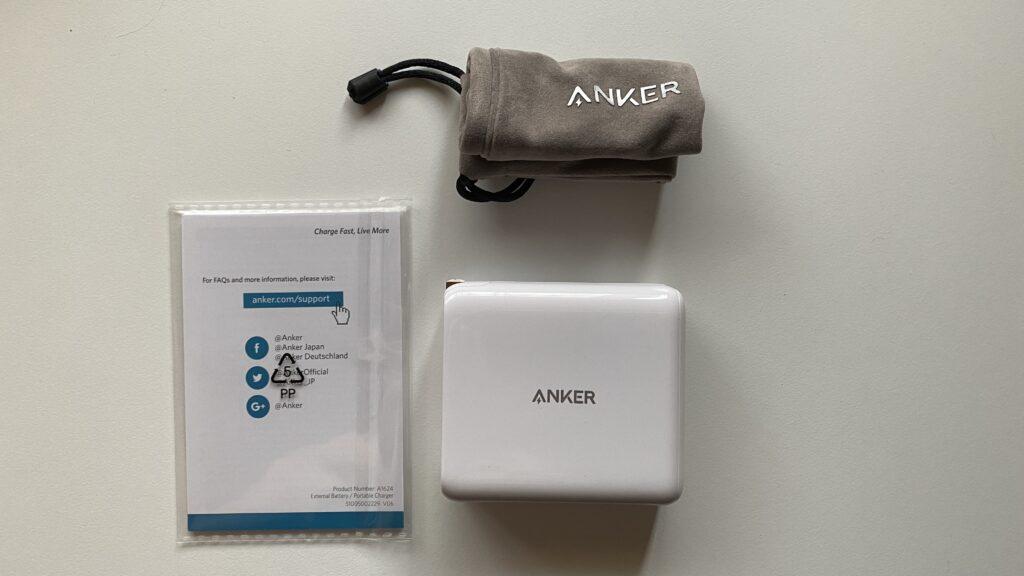 Anker PowerCore III Fusion 5000の付属品