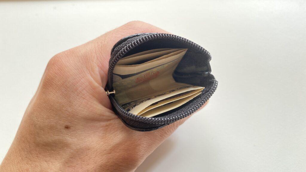 コインケースとお札
